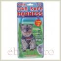 Centura CAR SAFE - extra small - ham + centura de siguranta