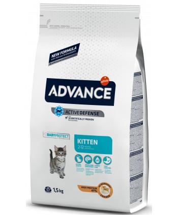 Hrana uscata pisicute, Advance, Kitten, 1,5 kg