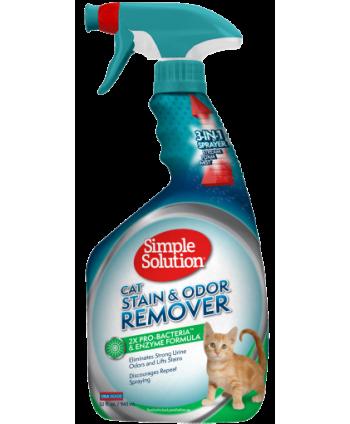 Solutie pentru pete si mirosuri pisica 750 ml